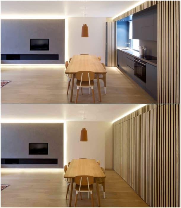 cocina-comedor-apartamento-londres