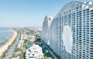 Fake Hills: bloque residencial ondulado de 800m
