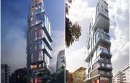Bloque de pisos en complicado sitio de Estocolmo