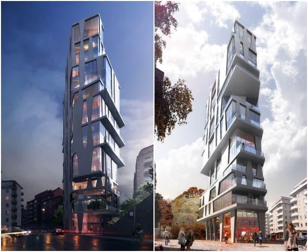 renders bloque de apartamentos Bolinder Plan Estocolmo
