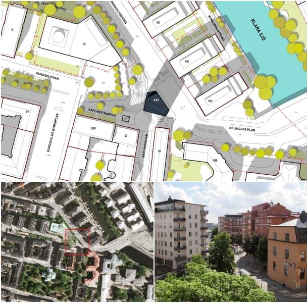 situación proyecto residencial Bolinders Plan