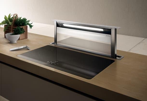Extractor de cocina tipo downdraft de la marca elica adagio for Extractor de cocina