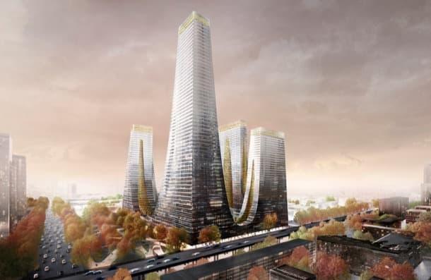 cradle-towers trade centre de zhengzhou