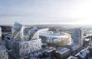Tampere Arena: diseñado por Daniel Libeskind