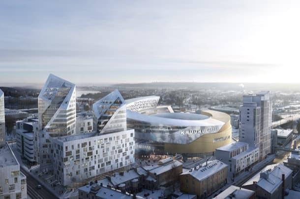 Tampere Arena Finlandia