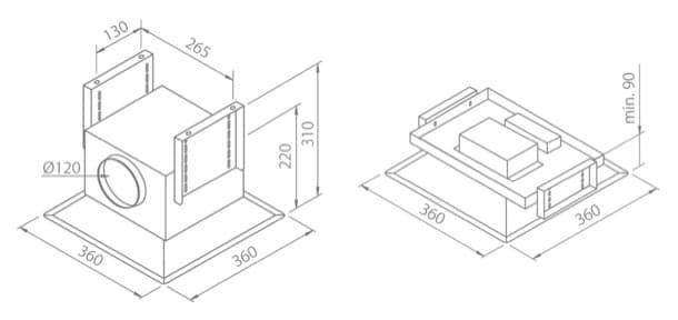 dimensiones-modulos-campana-de-techo-paradigma