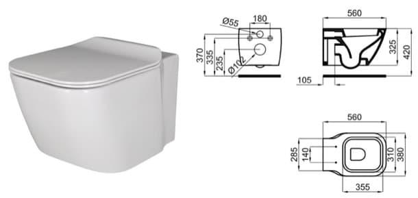 bloques cad de inodoros suspendidos essence-c-100168088