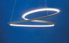 Kepler: lámpara inspirada en la cinta Moebius