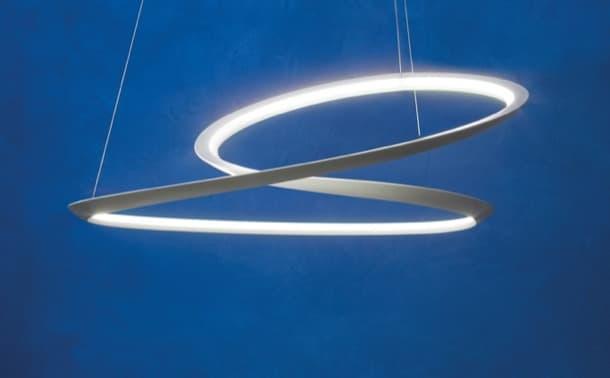 lámpara de aluminio Kepler