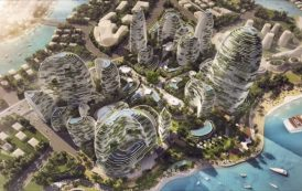 Idea de ciudad futurista para Malasia, por LAVA