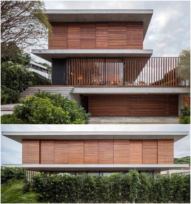 Casa Bravos fachada calle Itajai Brasil
