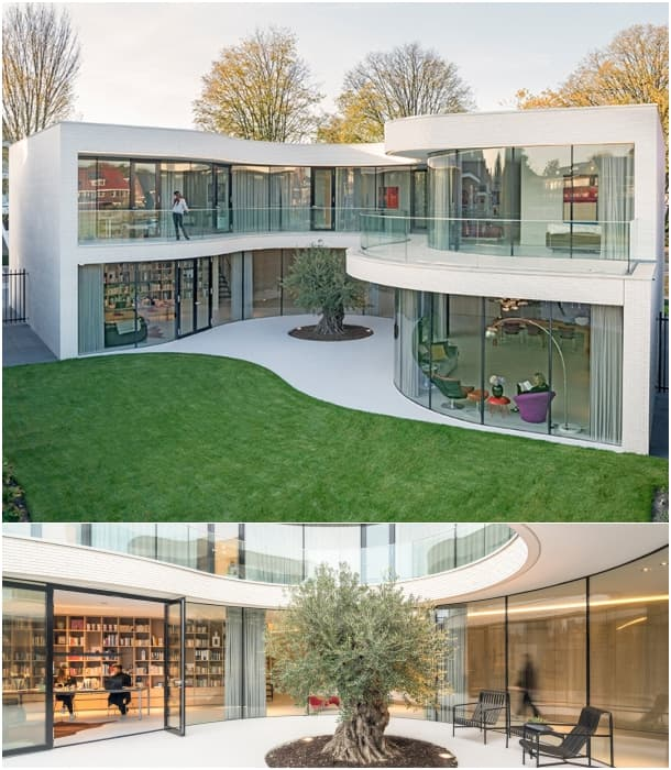Casa Kwantes fachada vidrio curvo MVRDV