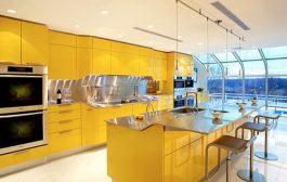Venus: cocina amarilla de Snaidero