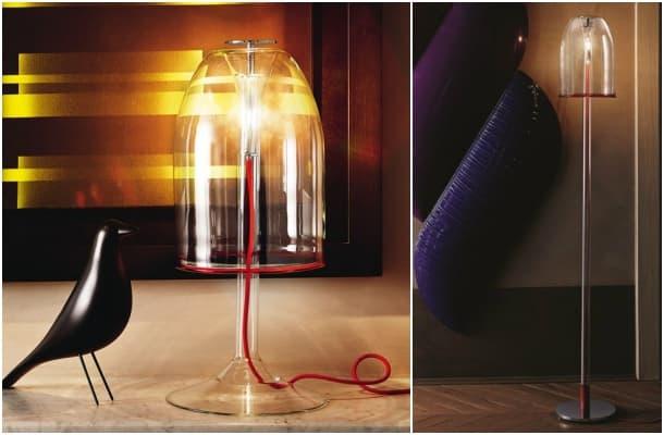 lámpara de sobremesa y de pied - Medusa