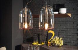 Lámparas Medusa, de vidrio borosilicatado