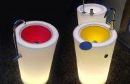 Fusion 3: lavabo pedestal que decora espacios