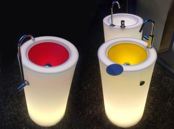 lavabo con pedestal Fusion 3