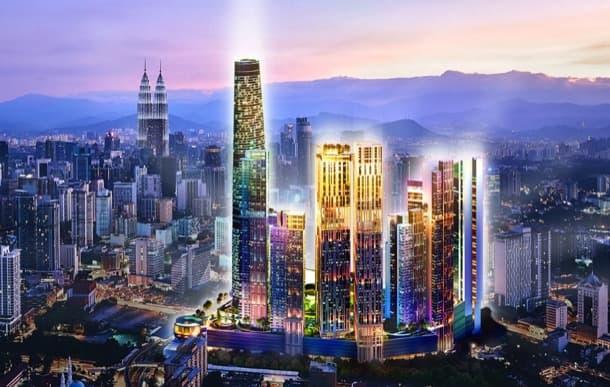 render BBCC de Kuala Lumpur