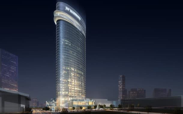 Rascacielos JW Marriott para la ciudad de Nashville