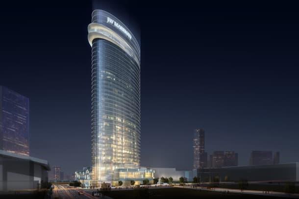 torre hotel JW Marriott de Nasville
