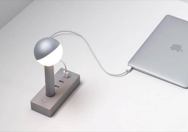 Busby W152 lampara LED con USB