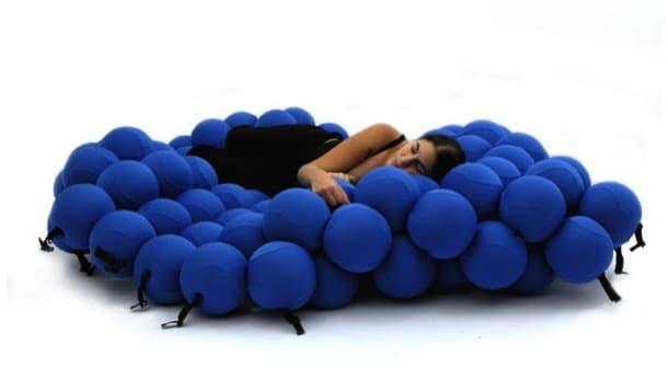 FEEL: puf innovador para descansar
