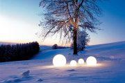 Moonlight: lámparas de diseño, para interior y exterior