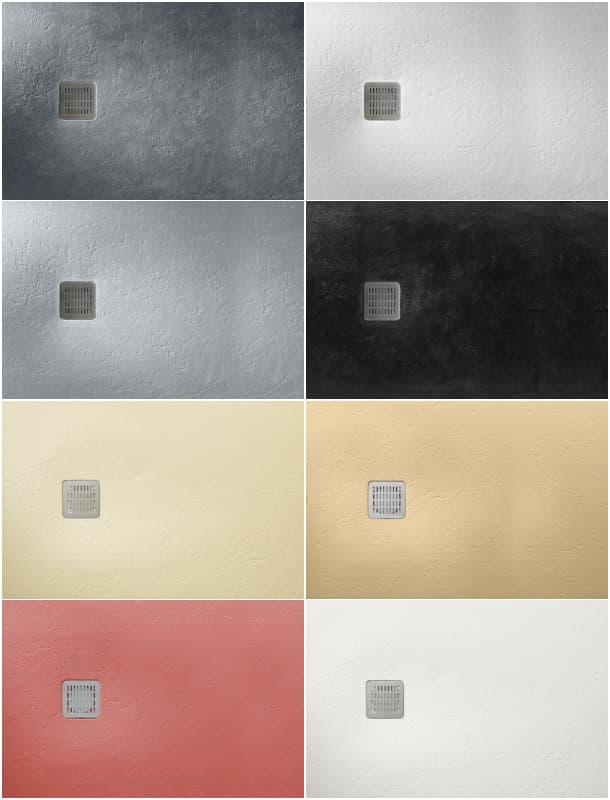 Terran plato de ducha extra fino de roca daydec design for Colores sanitarios roca
