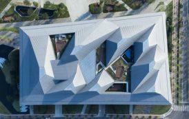 Centro de Exposiciones de Nankín (China), por NBBJ