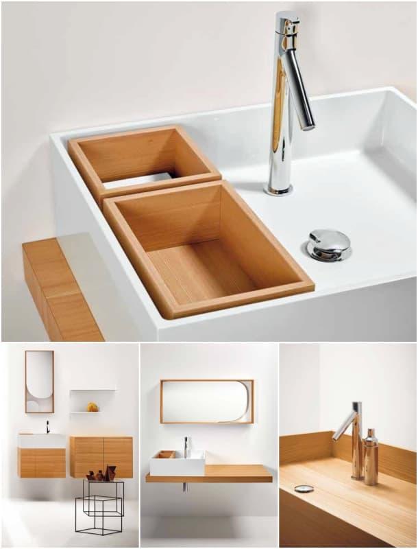 detalles lavabo Coleccion Nendo Bisazza