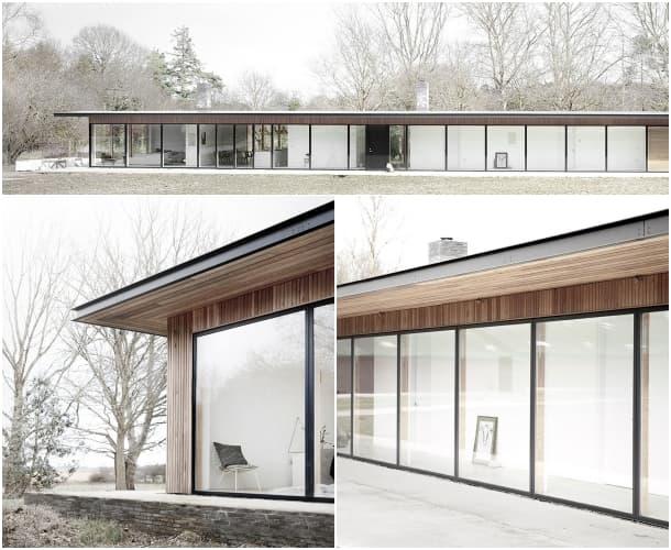 fachada casa Reydon Grove Farm Norm Architects