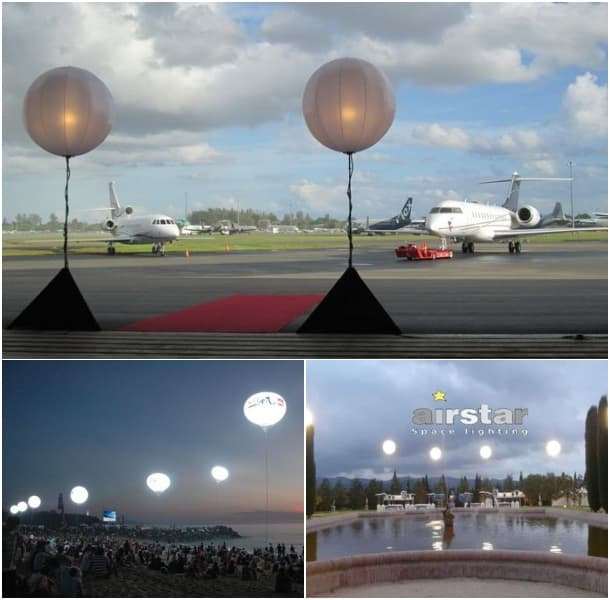 globos luminosos de Airstar