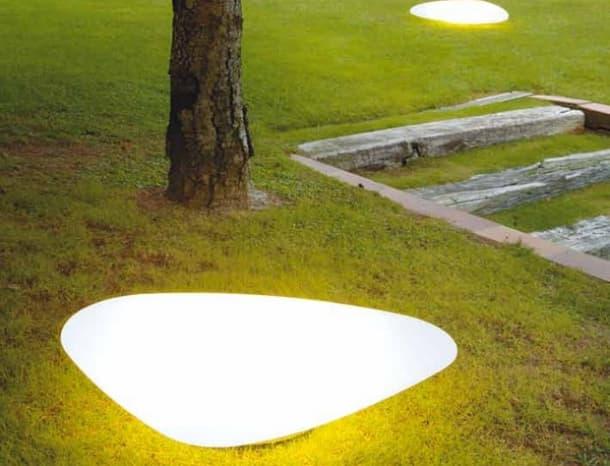 lámpara amorfa para exteriores