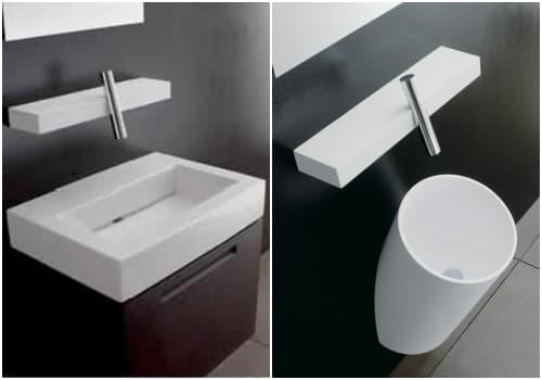 lavabos con grifo termostatico digital Blok