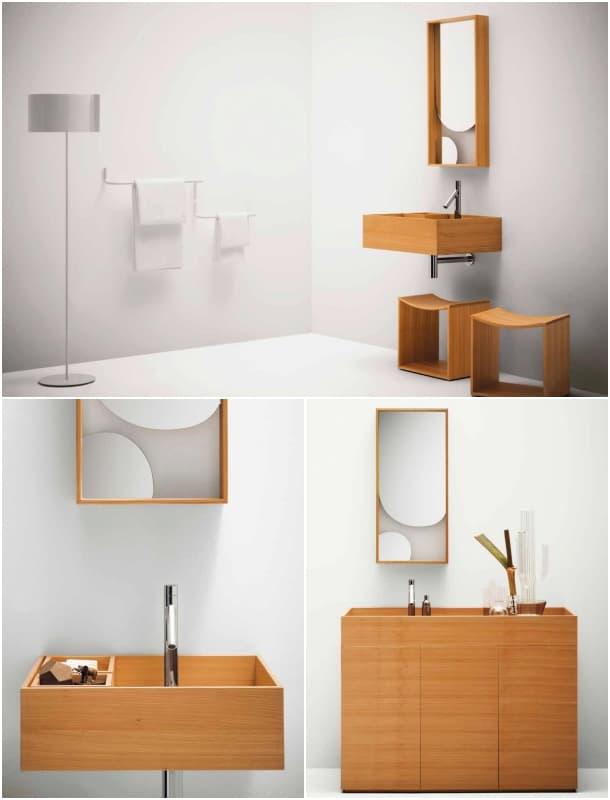 diseños para el baño colección Nendo