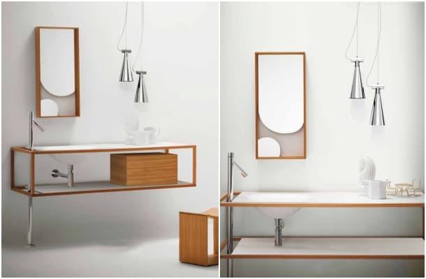 muebles baño Colección Nendo Bisazza