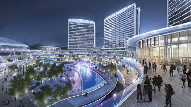plaza complejo Novotown Hengqin