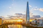 Lotte World Tower: 5º rascacielos más alto del mundo