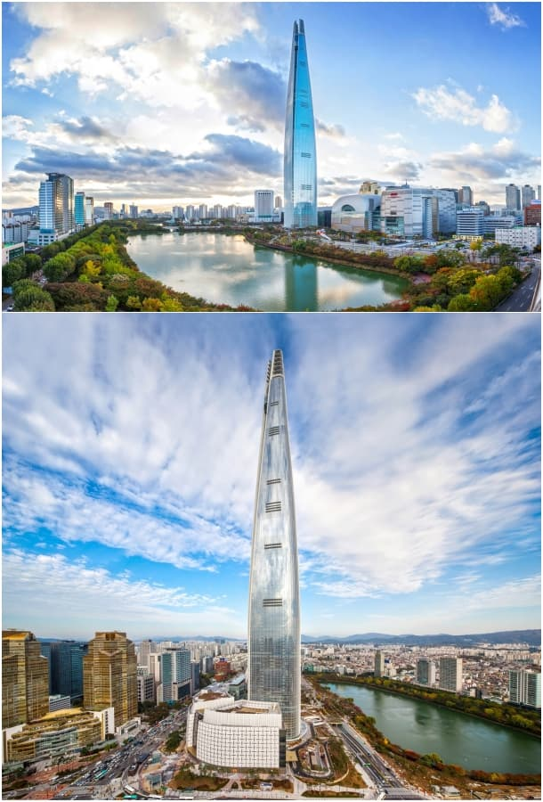 rascacielos Lotte World Tower Seul