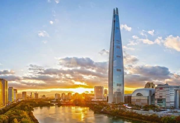 rascacielos Lotte World Tower
