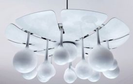 Drop Light: con satélites que sirven de lámparas de sobremesa