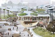 FAB Park: parque y restaurante para el centro de Los Ángeles