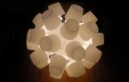 Exprimiendo la lámpara Lampan de IKEA