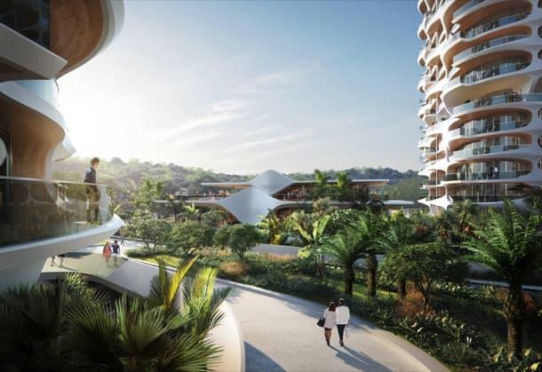 complejo residencial ALAI, Riviera Maya, Zaha Hadid