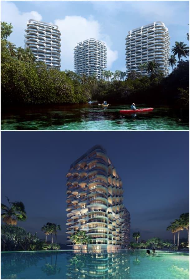 complejo residencial Riviera Maya