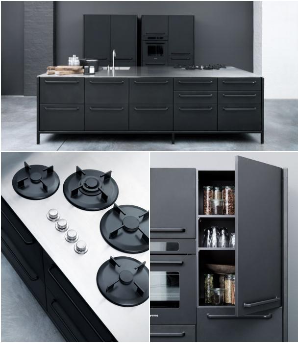Cocina vipp hecha en acero inoxidable y con dise o industrial - Diseno cocina industrial ...