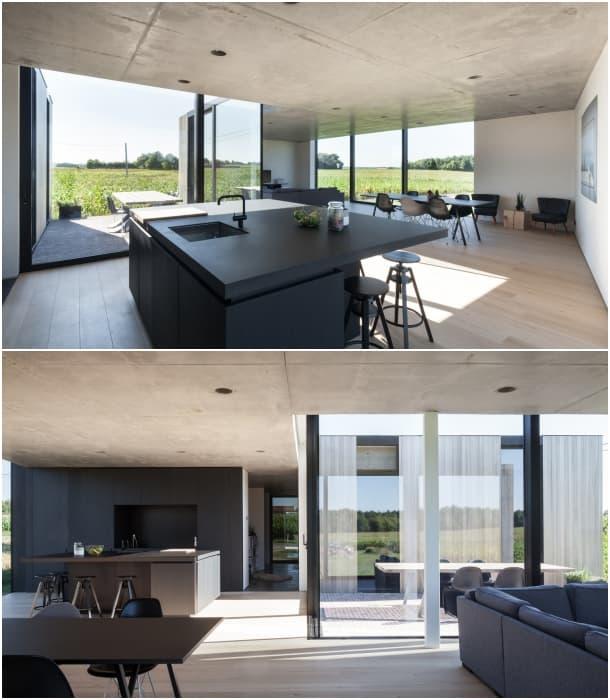 inerior Casa Caswes TOOP Architectuur Belgica