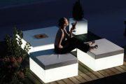 Ejemplos de muebles con iluminación LED