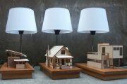 House Lamp: lámparas con maquetas iluminadas