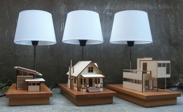 lámpara LED House Lamp